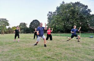 Tai Chi Ealing - sequence (outside)- YMAA OrientSport